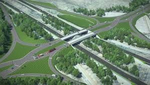 Diverging Diamond Interchange to open on Courthouse Road in Stafford on Saturday