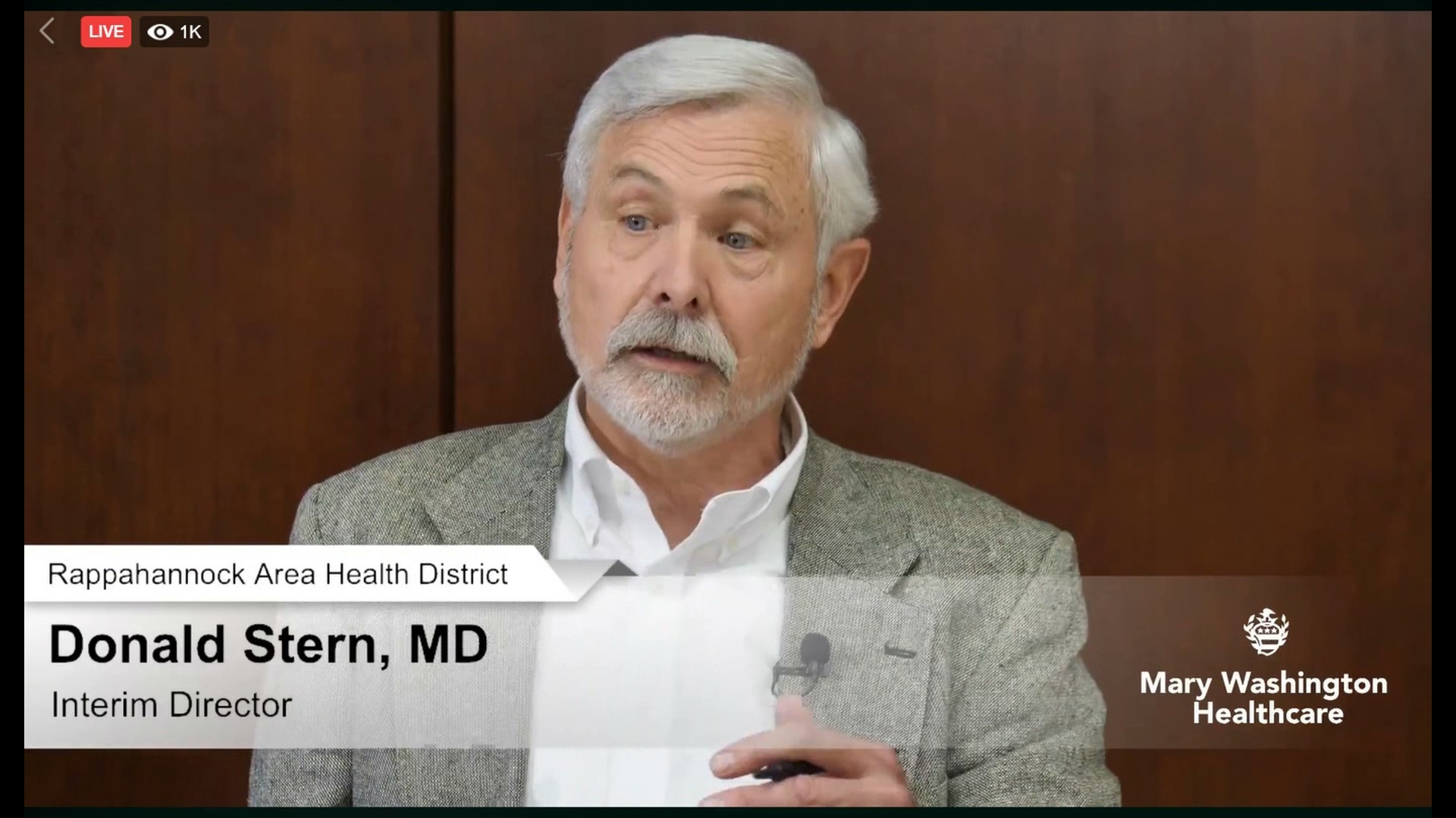 """Dr. Donald Stern:  """"This is a bad disease"""""""