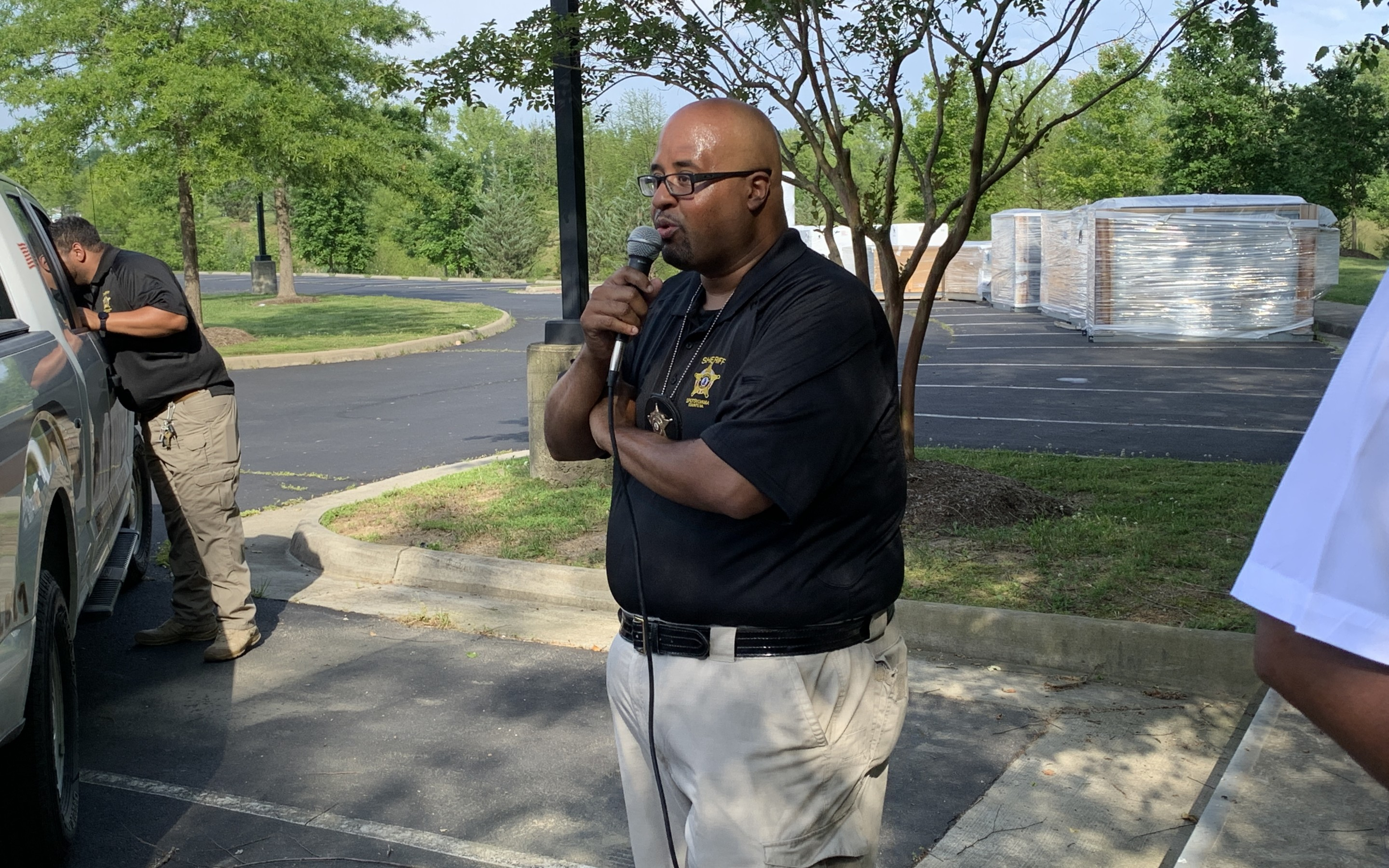"""1st Sgt Shaun Jones: """"In order to make a difference we need to do it peacefully."""""""