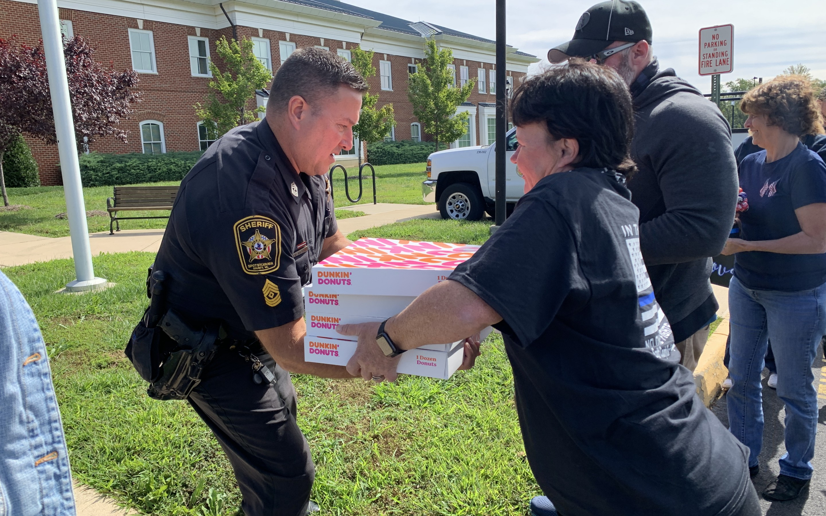 PHOTOS:  Thank a Police Officer Day marked in the region by the Back the First Responders Foundation