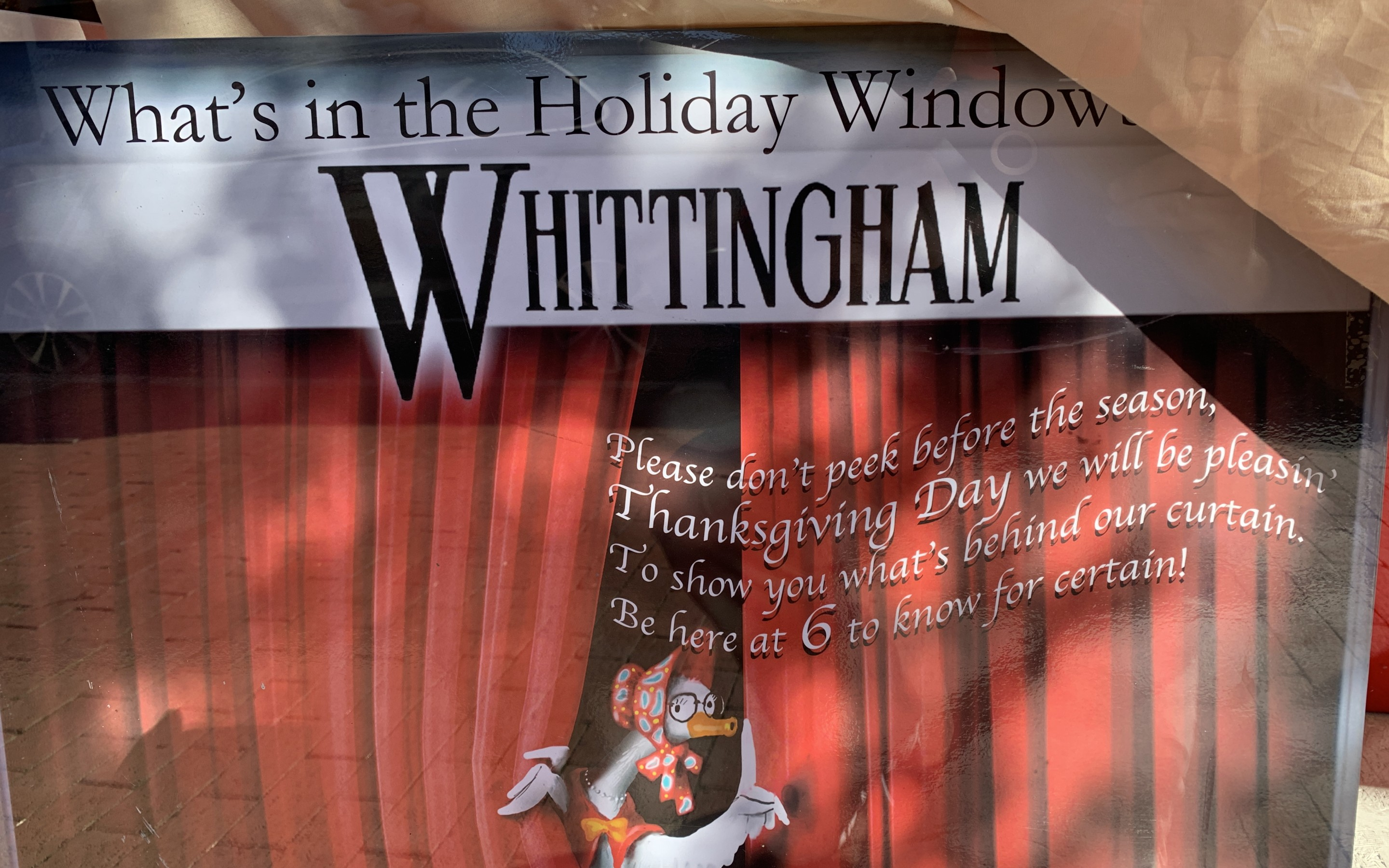 PHOTOS: It's (coming) back!   Whittingham's Christmas windows unveiled at 6pm Thursday