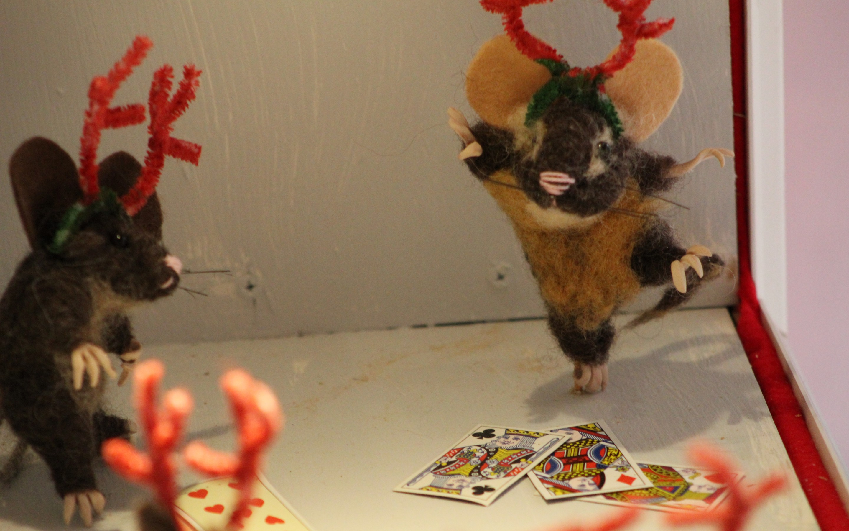 VIDEO:   The mice are back!  Whittingham Christmas windows return downtown