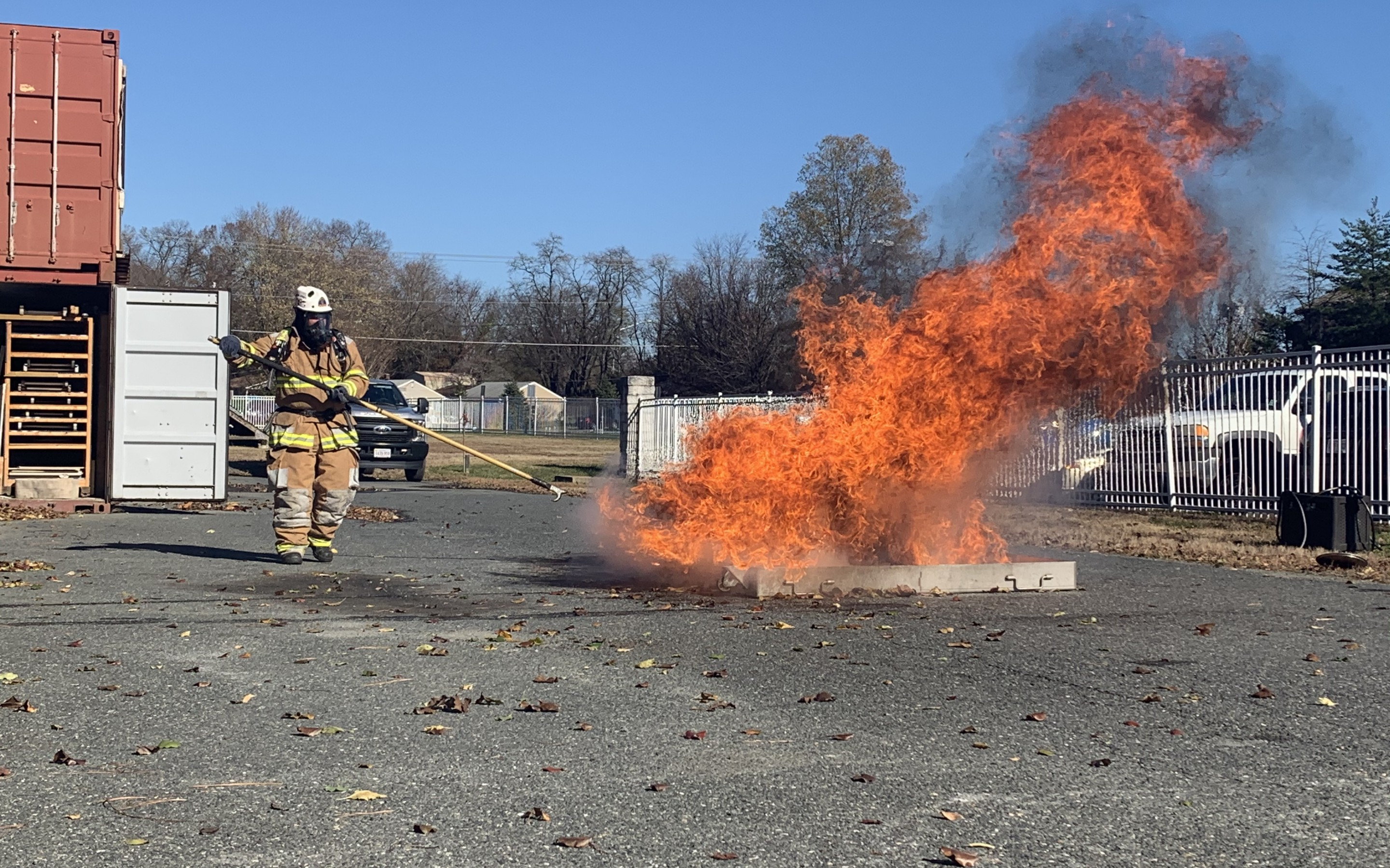 VIDEO:  Frying a turkey?  Stafford Fire and Rescue shows what can happen if you're not super careful