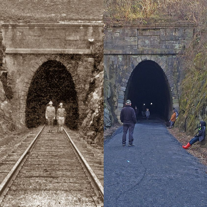 VIDEO:  Looking for a weekend adventure?  The Blue Ridge Tunnel in Afton Mountain