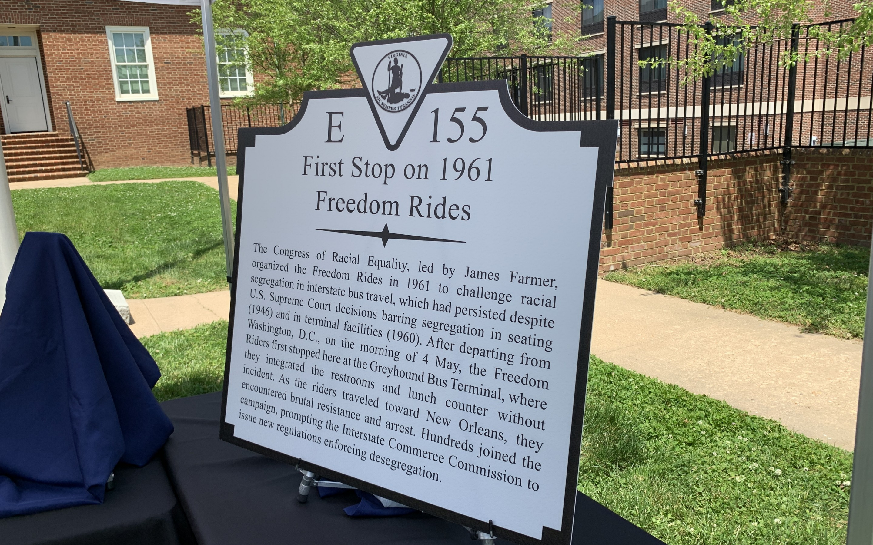 PHOTOS:   Remembering the Freedom Riders in Fredericksburg